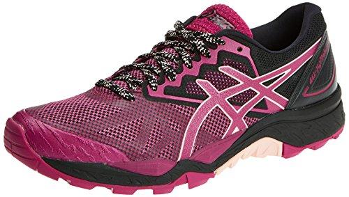 Asics Gel-Fujitrabuco 6, Zapatillas de Running para Asfalto para Mujer, Morado (Baton Rouge/Seashell Pink/Black 3217), 39.5 EU