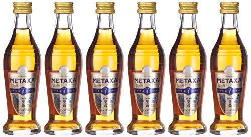 Metaxa 7 Sterne (6 x 0.05 l)