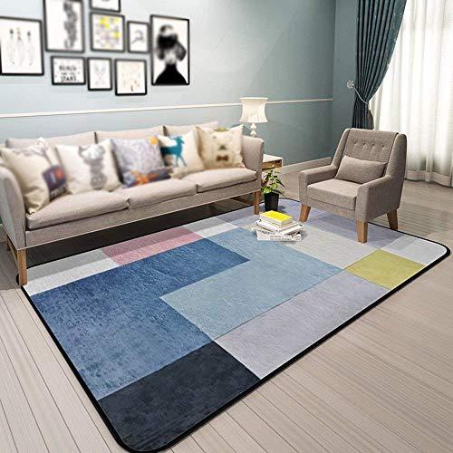 SED Teppich-Wohnzimmer-einfaches modernes Schlafzimmer-voll-auf Lager Kaffee-Tabellen-Matten-Ausgangsbett-Wolldecke nordische unregelmäßige gemusterte Wolldecken-Eingangs-Hall-Portal-Wasser-Absorptio