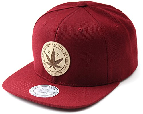 Imagen de sujii maple leaf  de béisbol  de béisbol tapa outdoor sombrero, hombre, burdeos, medium alternativa