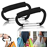 CellDeal Universal Large Buggy Clip Pram Pushchair Shopping Bag Hook Carabiner X 2