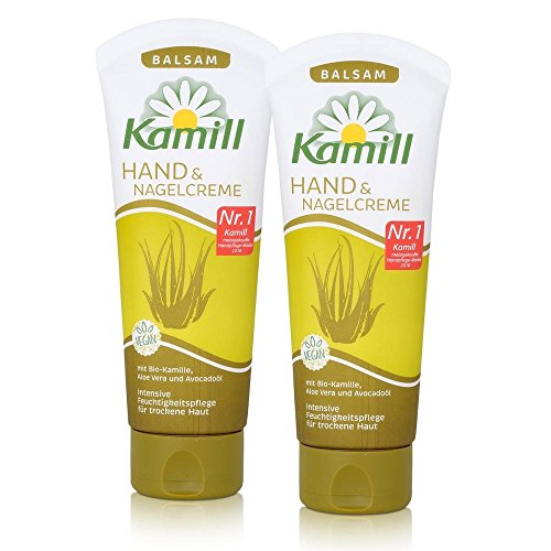 Kamill Hand & Nagel Creme Balsam 100 ml, 2er Pack (2 x 100 ml) (Hand Beauty Cream)