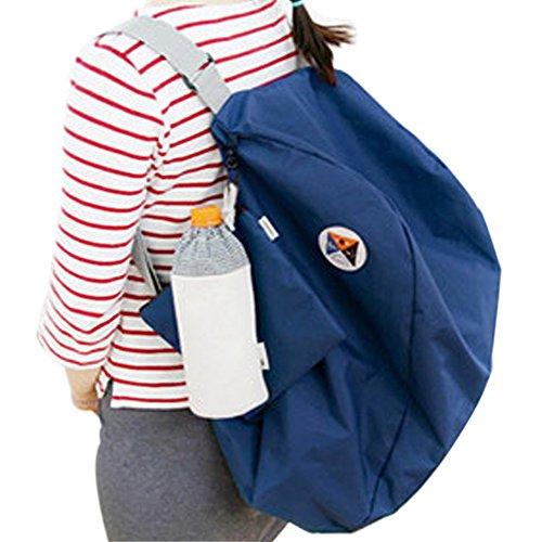 Ishowstore , Damen Rucksackhandtasche Blau