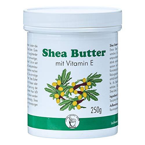 Pharma-Peter SHEA BUTTER raffiniert mit Vitamin E, 250 g - Shea Butter Vitamin Vitamine