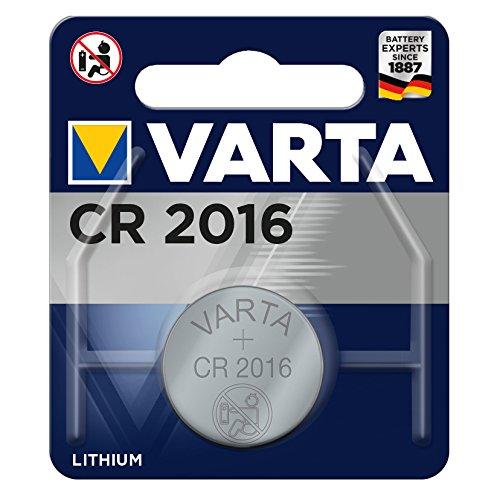 Varta CR2016 - Pack de 1 pila (Litio, 3V, 90 mAh)
