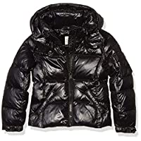 S13 Girls' Toddler Mogul Down Puffer, JET, 4