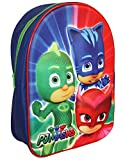 P J Masks Backpack Zainetto per bambini, 32 cm, 830 liters, Blu (Red)