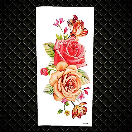 HXMAN 3pcs 3d Diy Schwarz Inspiriert Zitate Temporäre Tattoo Aufkleber Für Kinder Mädchen Kinder Frauen Körper Kunst Tattoo Papier Papier Kleine Worte Sexy Tatoo GTBX9012