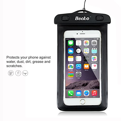 becko-black-waterproof-case-touch-responsive-front-and-back-universal-waterproof-wallet-dry-bag-pouc