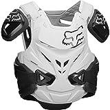 Fox pettorina motocross AIRFRAME PRO JACEKT OMOLOGATA CE nero bianco - S/M