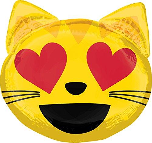 nballon Imoji Katze (Smiley Katze Kostüme)