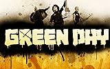 Green Day 8Billie Joe Armstrong Mike DIRNT Tre Cool Jason Blanc Idéal bande de Musique Rock en métal design pour album photo Best unique Poster A3