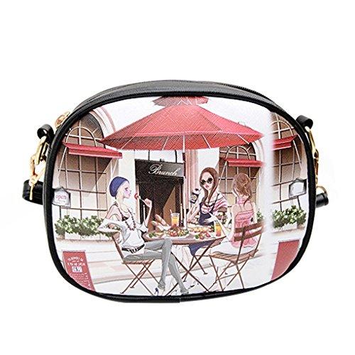 KOROWA Sacchetti di spalla di estate delle donne con i sacchetti del messaggero di spruzzatura bellezza