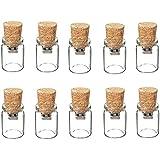 10 piezas Memorias USB de 1GB de capacidad de almacenamiento con diseño de botella a la deriva, para regalo de navidad (2.0