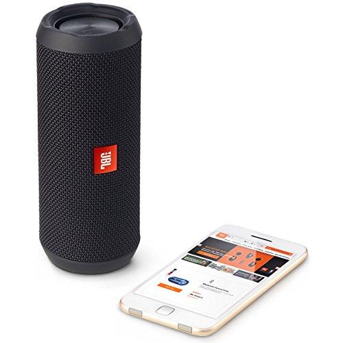 JBL Flip 3 Portable Wireless Speaker with Powerful Sound & Mic (Black)