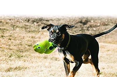 KONG Wiggi Alligator Dog Toy