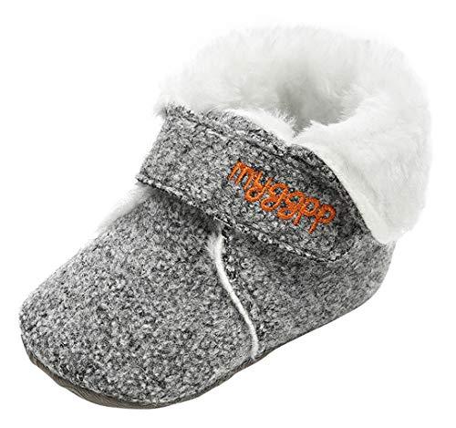 EOZY Zapatos Bebé Niños Niñas Patucos Botas de Nieve Recién Nacido Antideslizante Invierno Gris...