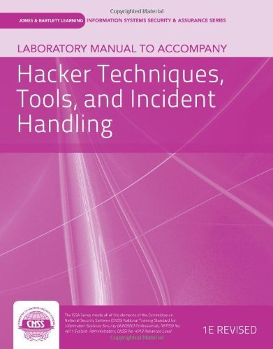 Laboratory Manual To Accompany Hacker Techniques, Tools, And Incident Handling (Jones & Bartlett Information Systems Security & Assurance) Lab Manual edition by vLab Solutions, (2012) Paperback