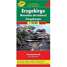 Freytag Berndt Autokarten, Erzgebirge 1:150.000