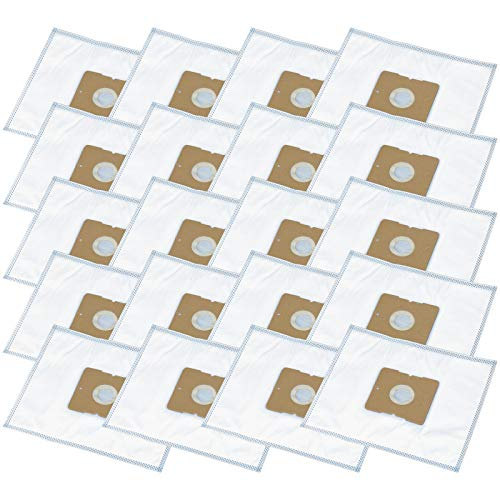 20 Staubsaugerbeutel geeignet für FIF DIV 102, EVC 450, 459, Germatic BS 2000W.16, Goblin FAM 403, 405, 410, 470, 479, 489, Trisa 9454 Professional Clean 2200 Plus