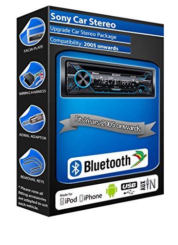 In Car Emporium Sony MEX-N4200BT - Reproductor de CD para Ford Fiesta...