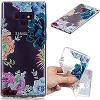 Preisvergleich für Everainy Samsung Galaxy Note 9 Hülle Silikon Transparent Gummi Cover Hüllen für Galaxy Note 9 Handyhülle Stoßfest...