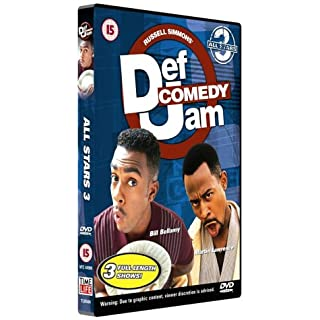 Def Comedy Jam - All Stars: Volume 3 [DVD]