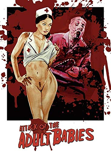 Attack of the Adult Babies - Uncut - Limited Uncut Edition (+ DVD), Cover D [Blu-ray]