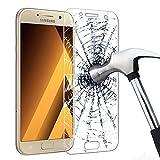 Samsung Galaxy A5 (2017) Schutzfolie, KKtick Displayschutz für Samsung Galaxy A5 (2017) 5.2 Zoll temperiert Transparent Ultra Klar Film folie Displayschutzfolie (1 PCS)