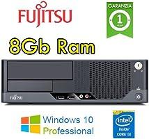 Fujitsu - PC Esprimo E9900 Core i3-540 3.06GHz 8Gb Ram 250Gb no ODD Windows 10 Professional - MAR (Ricondizionato Certificato)