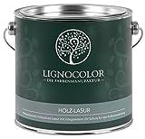 Lignocolor Lasur Holzlasur Holzschutzlasur für Außen 2,5L (Weiss)