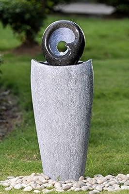Brunnen, Springbrunnen Aussen+ Innen 90cm FoGlobo 10207 von Kiom bei Du und dein Garten