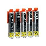 5 Druckerpatronen kompatibel zu Epson 26-XL T2631 (Photoschwarz) passend für Epson Expression Premium XP-510 XP-520 XP-600 XP-605 XP-610 XP-615 XP-620 XP-625 XP-700 XP-710 XP-720 XP-800 XP-810 XP-820