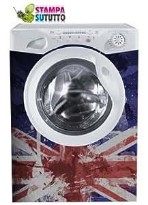 autocollants adhésifs pour machine à laver lavage appareils autocollants réfrigérateur autocollants stickers muraux pour le revêtement de meubles films adhésifs déplacer des appareils électroménagers mesure 60x85