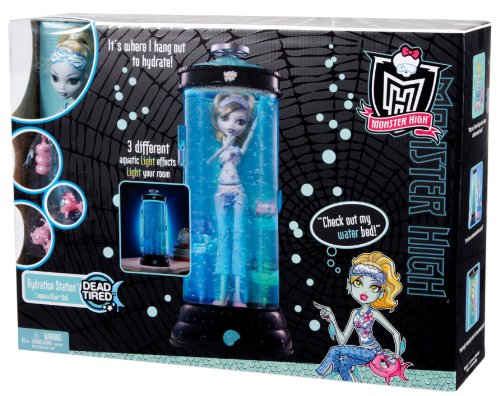 Imagen 10 de Monster High V7963 - Muñeca Lagoona Blue con Hidrocápsula Luminosa (Mattel) - incluye muñeca