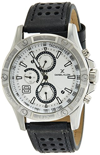 Daniel Klein Analog Off-White Dial Men's Watch-DK11074-5 image