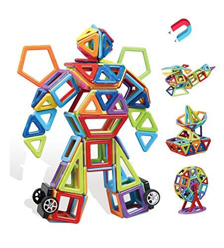 SLONG Children es Educational Toys Pure Magnetic Piece Blocks Changeable Magnetic Building Blocks Loose Magnets Assembled Construction Film