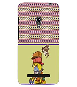 PrintDhaba Cartoon D-4317 Back Case Cover for ASUS ZENFONE 5 A501CG (Multi-Coloured)