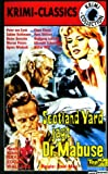 Scotland Yard jagt Dr. Mabuse [VHS]