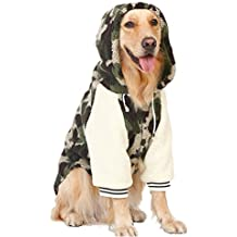 Disfraz de cachemira para mascotas de Kuuboo, de estilo dorado para perros grandes como labrador