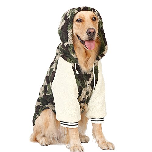 Disfraz de cachemira para mascotas de Kuuboo, de estilo dorado para perros...