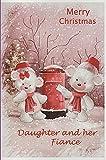 Karten für alle–Frohe Weihnachten Tochter und ihr Partner