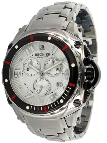 Régnier Variya R1285 Men's Chronograph Stainless Steel Strap Watch 2050222