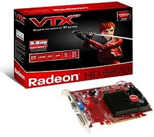 VTX3D AMD Radeon HD 6670 Graphics Card (2GB, DDR3, PCI Express 2.1, HDMI, DVI-D, VGA, AMD CrossFireX, AMD HD3D Technology)