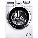 Beko WMY 71643 PTLE Waschmaschine Frontlader / A+++ /  1600 UpM / 7 kg / Weiß / Weißes LC-Display / Pet Hair Removal / Mengenautomatik / Watersafe+ / Automatik-Programm / BabyProtect