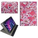 Blumen Motiv P Tablet Tasche Schutz Hülle für 10 Zoll Jay-Tech / CANOX Tablet PC 101