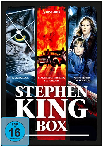 Stephen - King - Horror - Collection [3 DVDs]