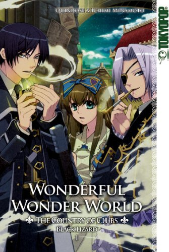 Wonderful Wonder World - The Country of Clubs: Black Lizard 01 1 Black Lizard
