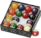Gamesson - Set di palle da biliardo, colore: Multicolore