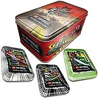 Ninjago leere Tins Dose Box für Sammel Karten, Kleinteile, Minifiguren und Trading Cards